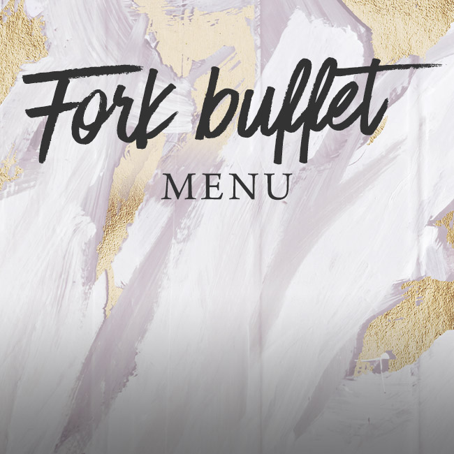 Fork buffet menu at The Castle