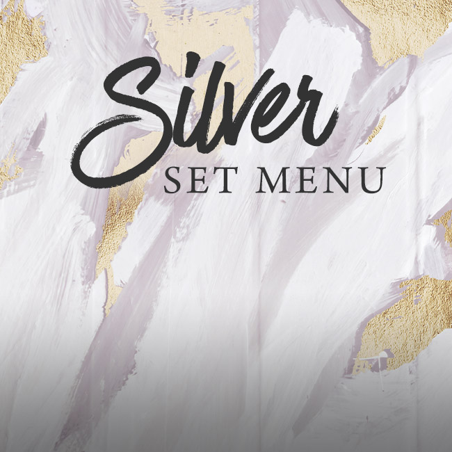 Silver set menu at The Castle