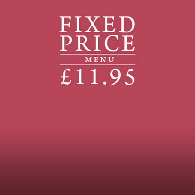 Fixed Price Menu at The Castle