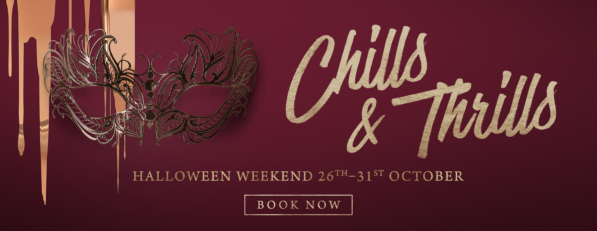 Chills & Thrills this Halloween at The Castle